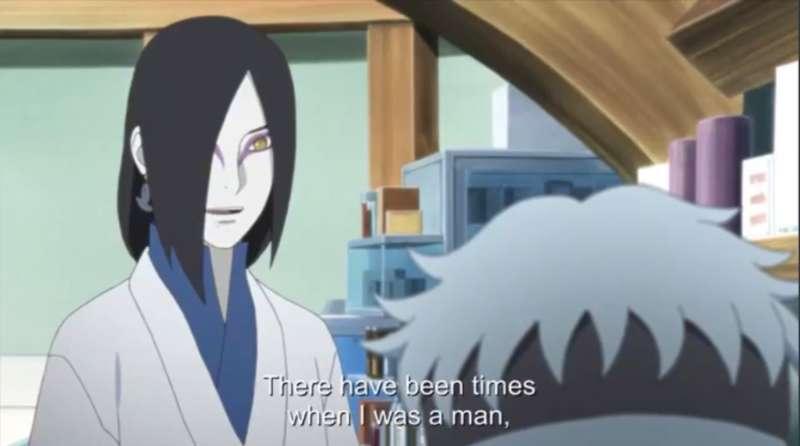 Orochimaru 02, Naruto non-binary 02