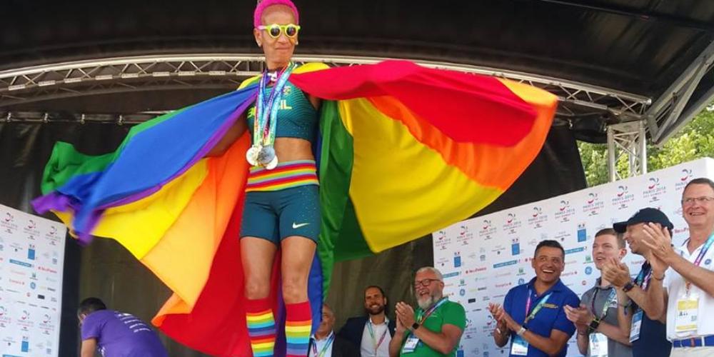 Brasil leva 24 medalhas em sua primeira participação no Gay Games