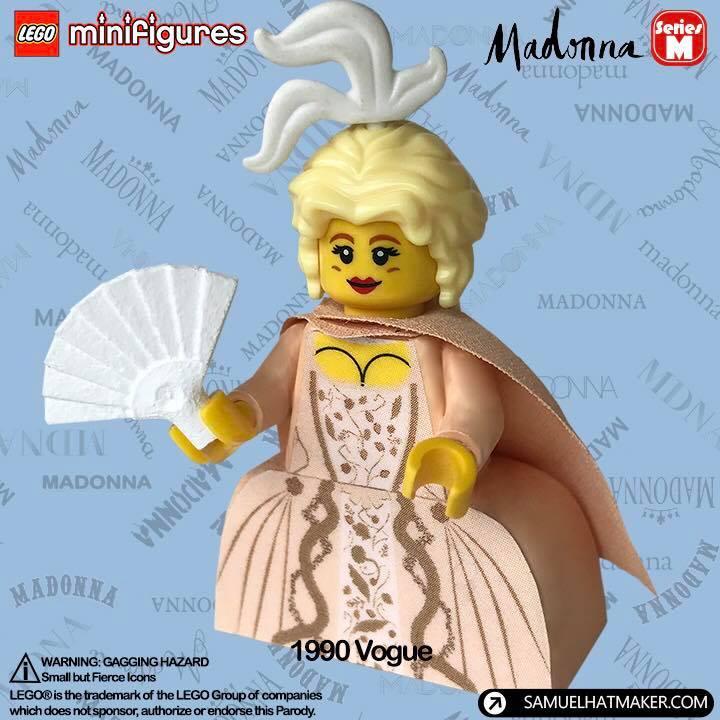 วันเกิดของมาดอนน่า madonna's birthday madonna lego 6