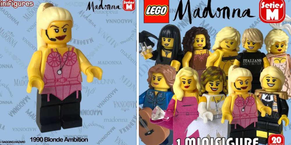 Un super fan de Madonna recrée ses looks avec des Legos