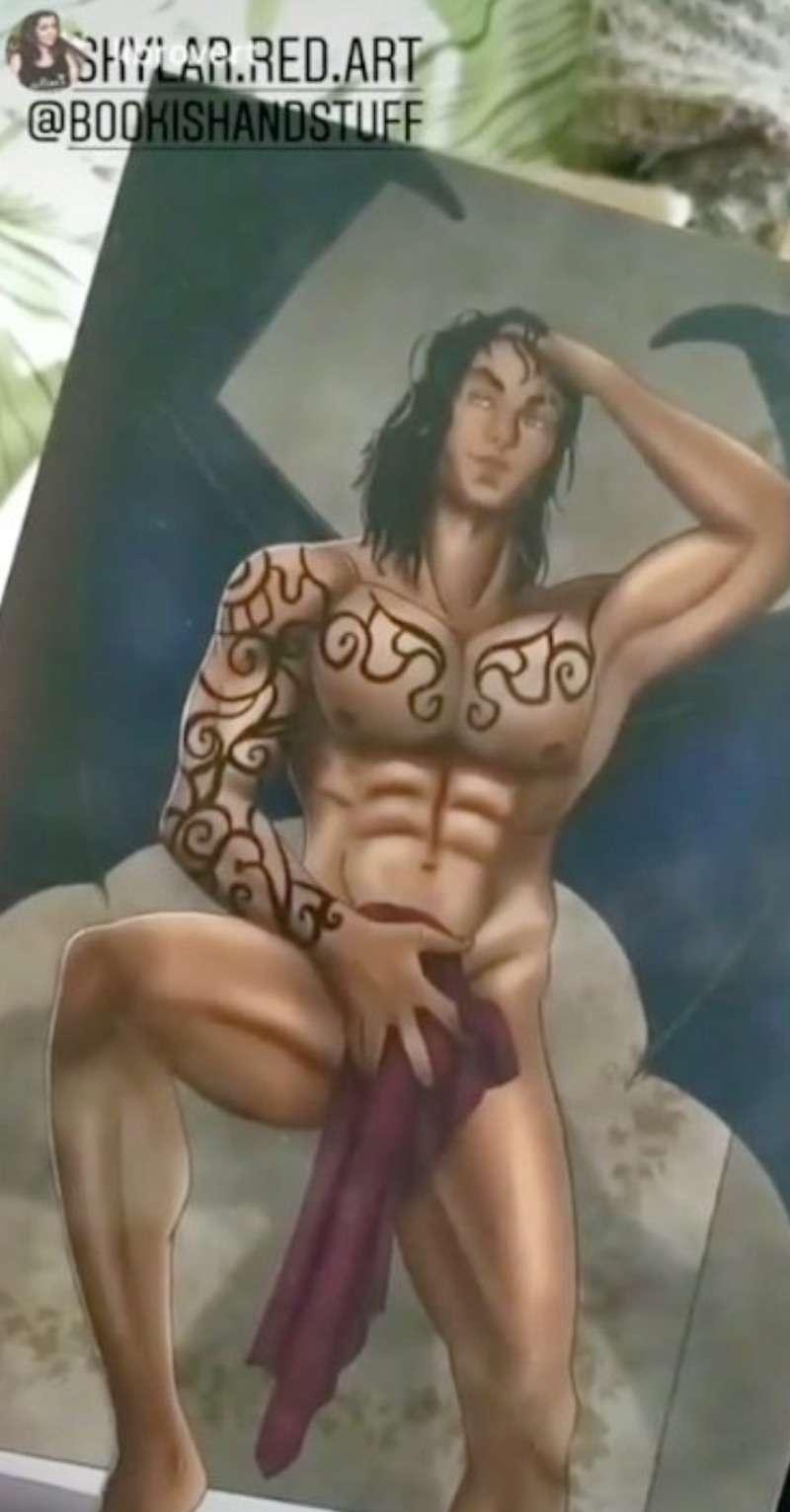 dick soap art