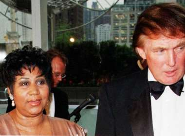 DONALD trump aretha franklin feat