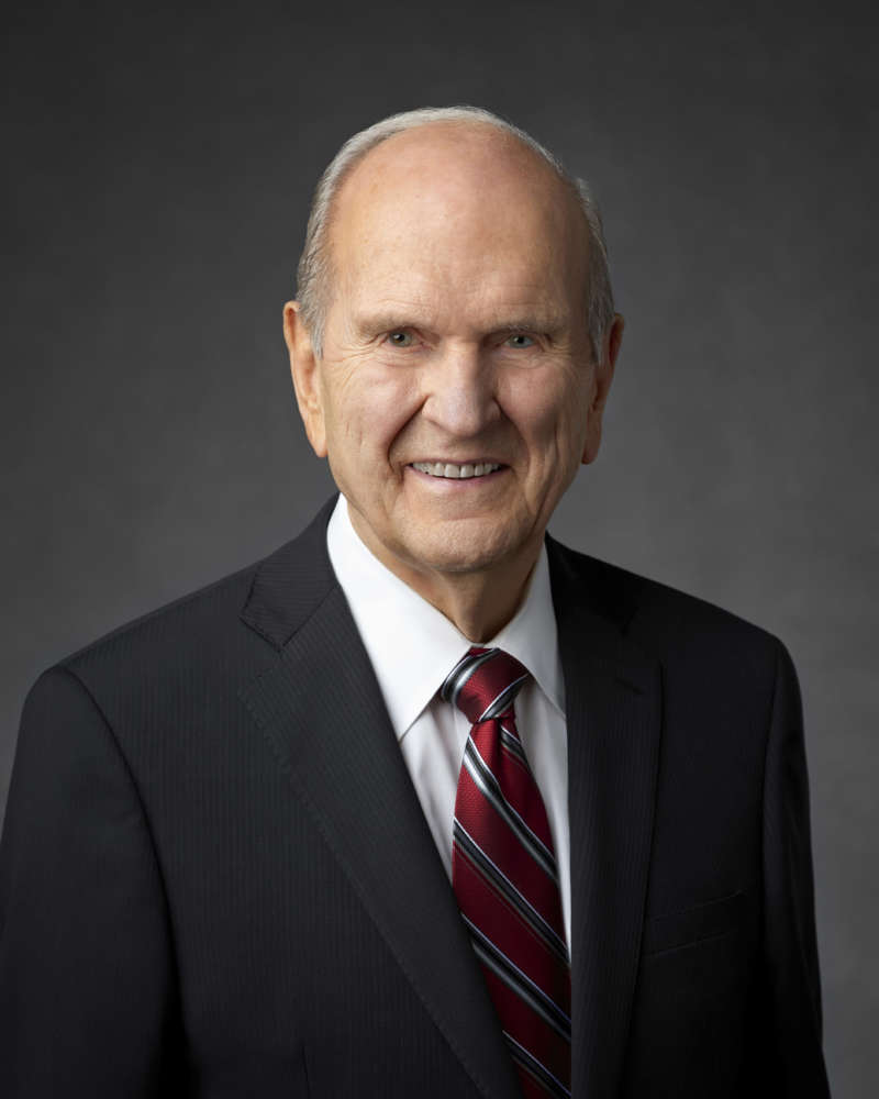 mormon name change president Russell M. Nelson