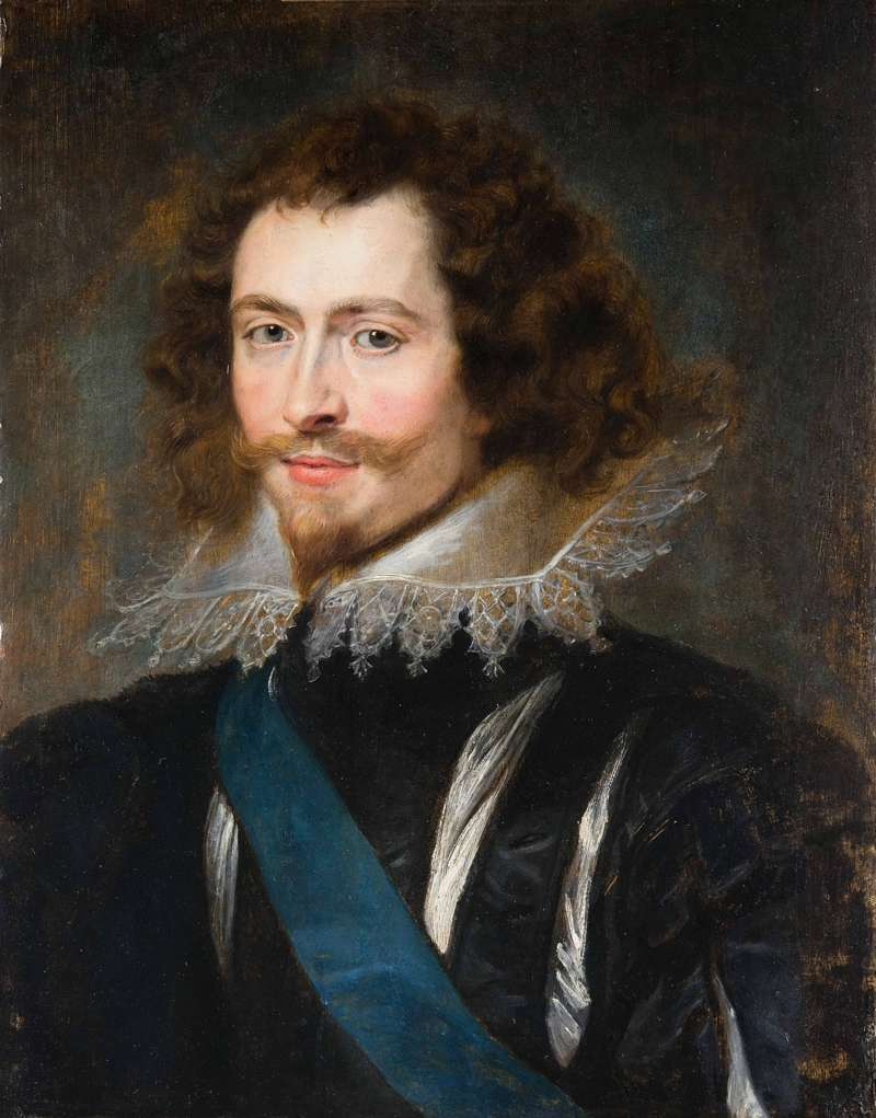 george villiers king james i rubens painting