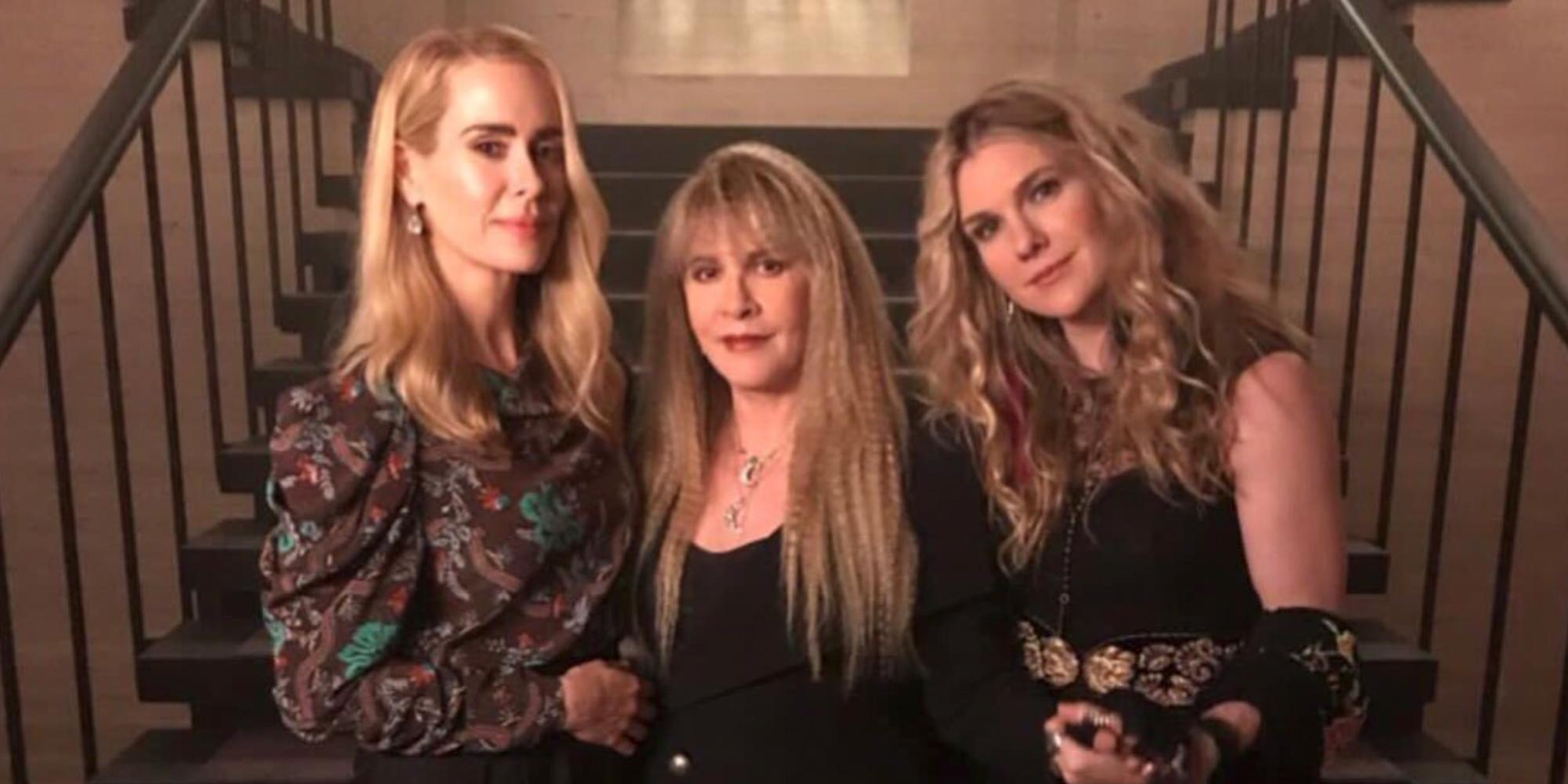 Les actrices de la saison 3 de «American Horror Story» à nouveau réunies sur un même plateau : on est envoûtés !
