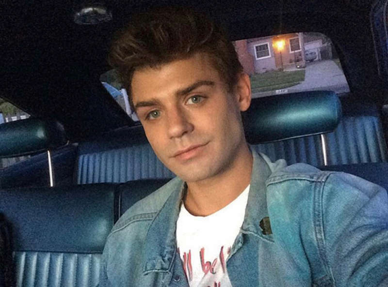 Garrett Clayton coming out