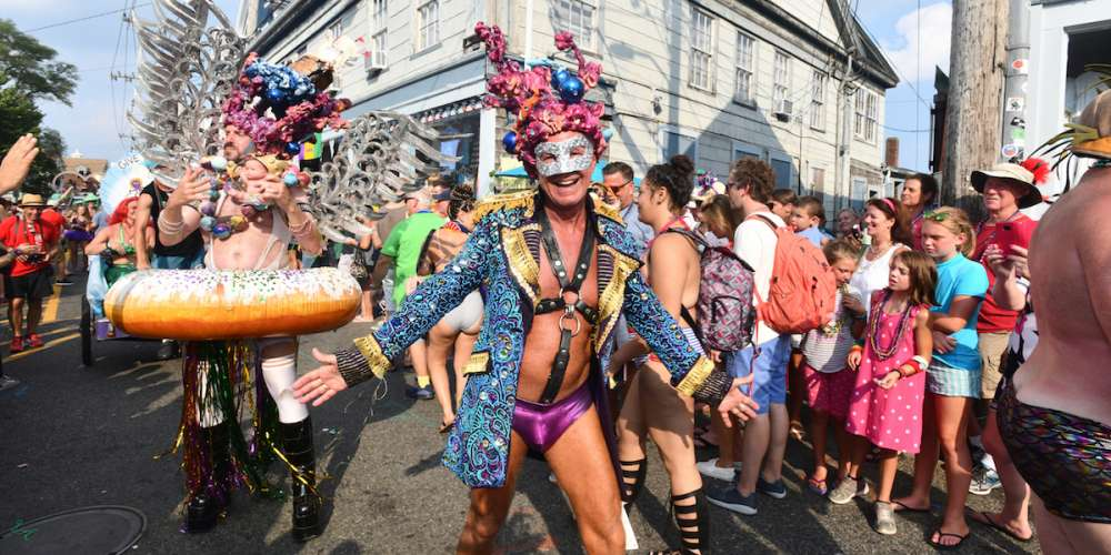 35 Sexy, Silly & Campy Snapshots of Provincetown's 40th Annual Carnival Week