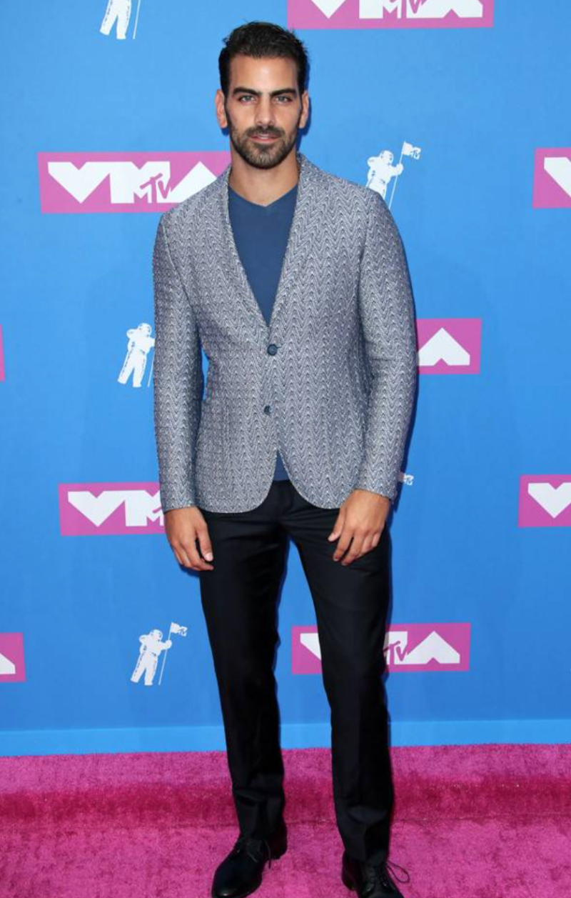 vma red carpet nyle dimarco