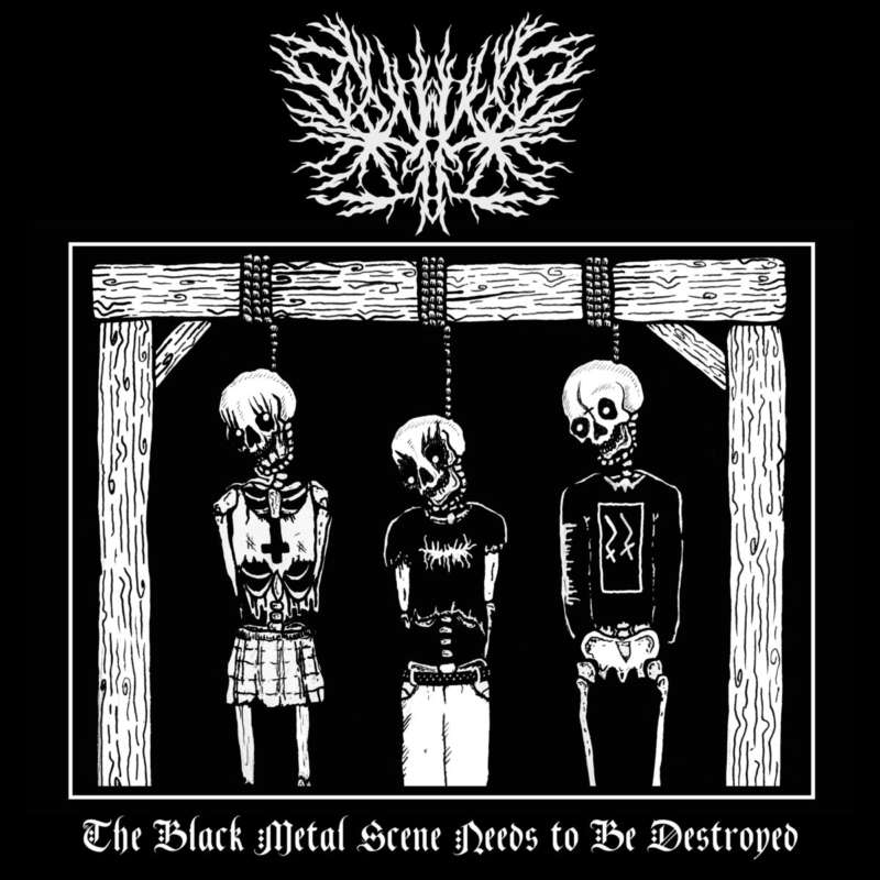 metal band gaylord album cover BMSNtBD the Black Metal Scene Needs to Be Destroyed