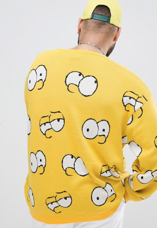 current obsessions simpsons asos robo-pup