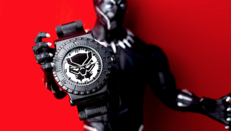current obsessions black panther watch robo-pup