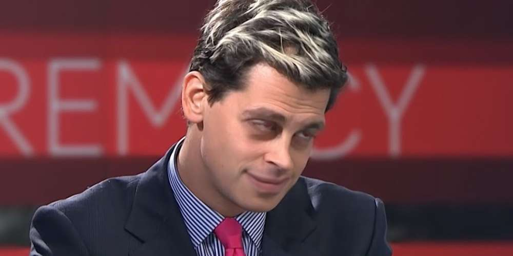 The Beginning of the End Is Here for Milo, Who Has Turned Against His Supporters