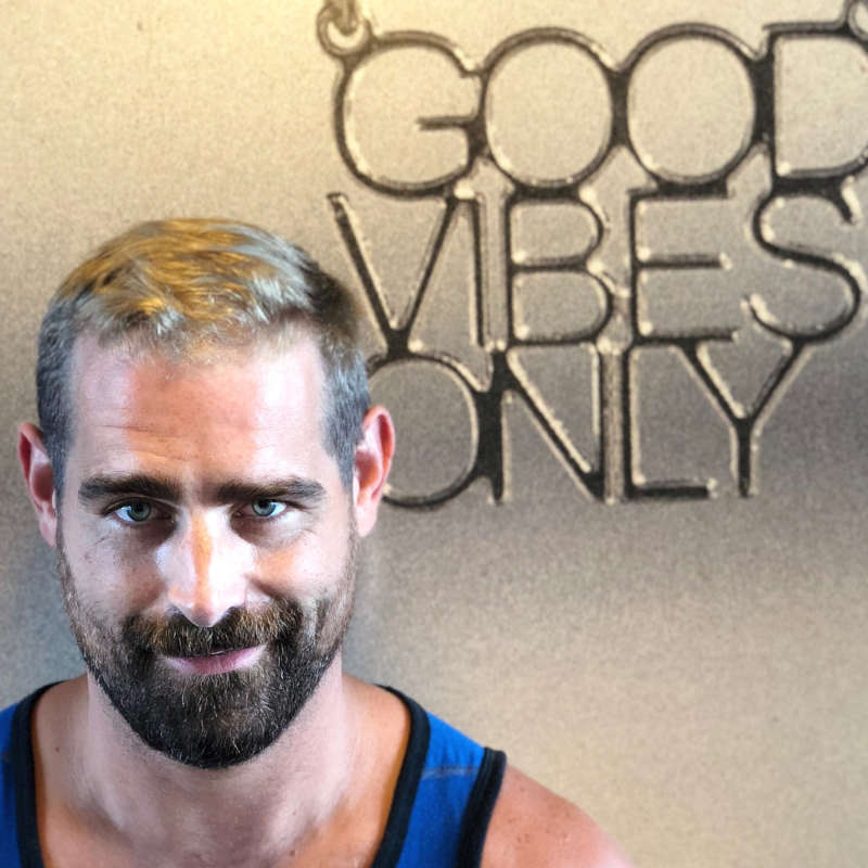 Brian Sims' new hairstyle went fully grey