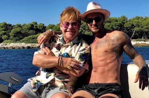 Elton John David Beckham 01