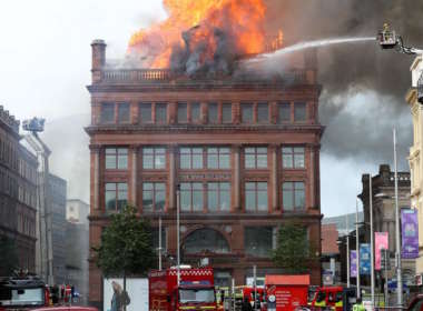 department store fire