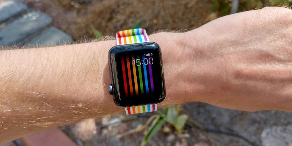 Apple Has Banned the Pride Watchface From Appearing on Russian Apple Watches