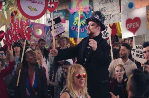 new Boy George song 01, new Culture Club video 01