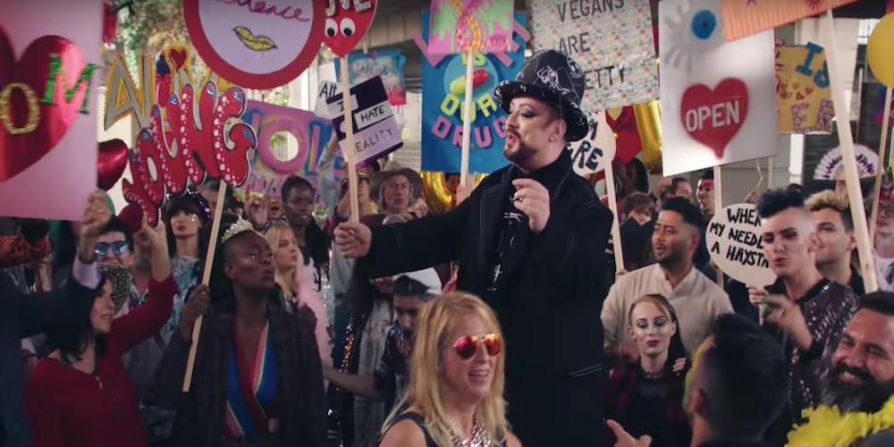 Boy George and Culture Club Get Political in Their First Music Video After 20 Years