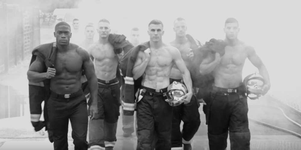 Vidéo: le making-of du calendrier Les Pompiers 2019