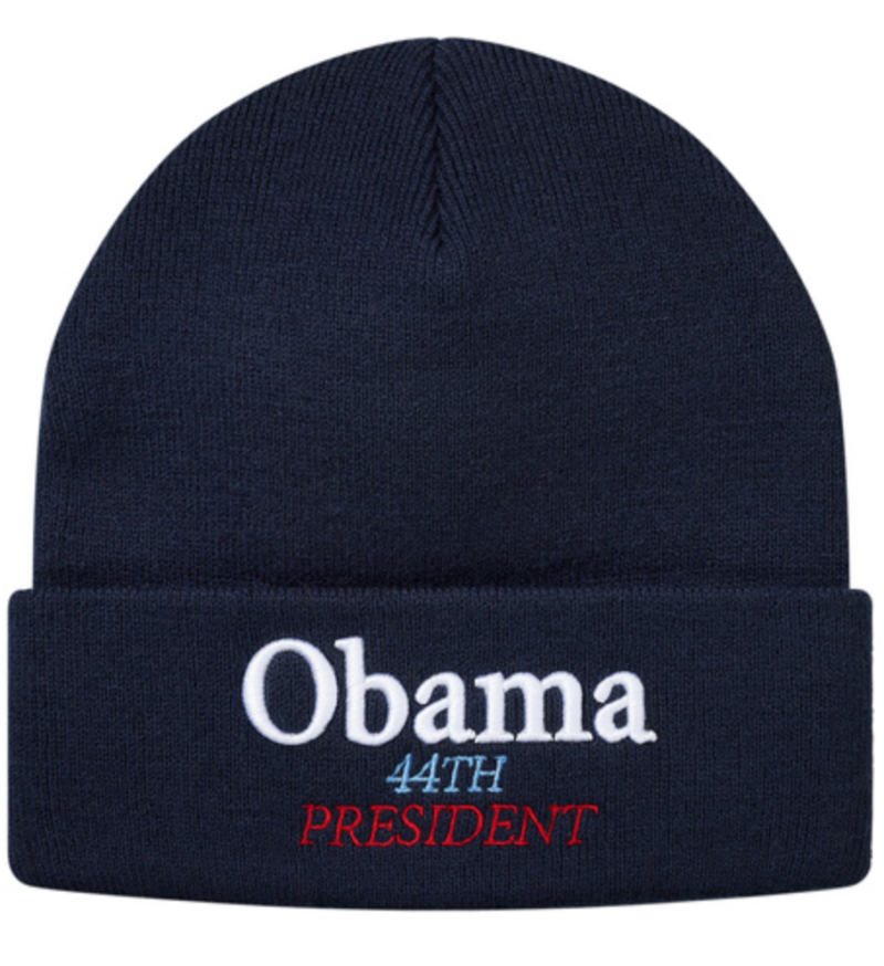 current obsessions obama beanie by supreme
