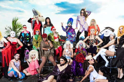 new york drag Bushwig by Maro Hagopian