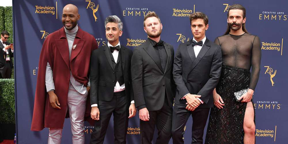 'Queer Eye' and 'Drag Race' Were Big Winners at Last Night's Creative Arts Emmys