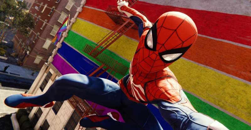 marvel's PS4 spider-man game 2