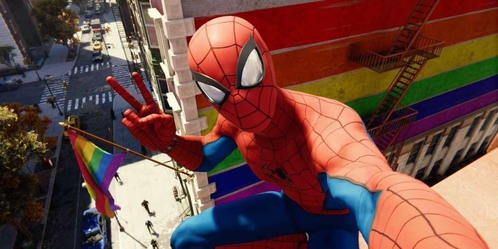 PS4 spider-man game teaser