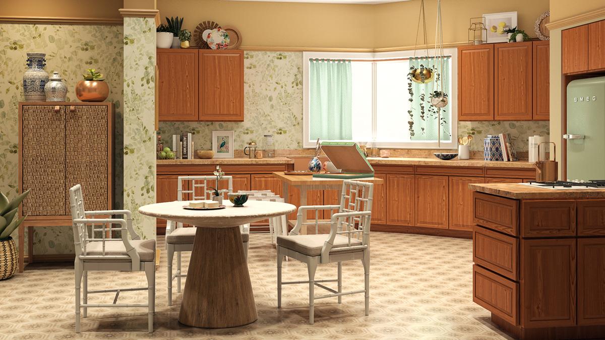 Golden Girls House Kitchen
