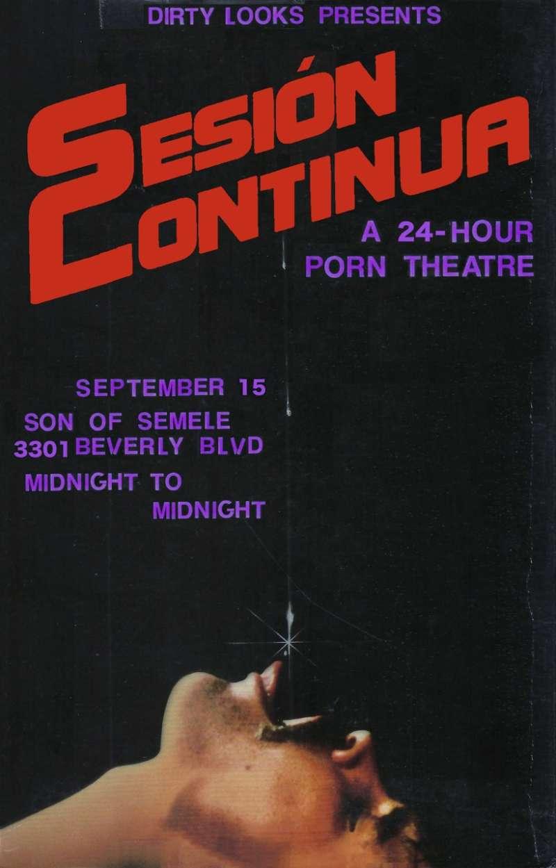 Sesión Continua 02, 24-hour porn theater 02