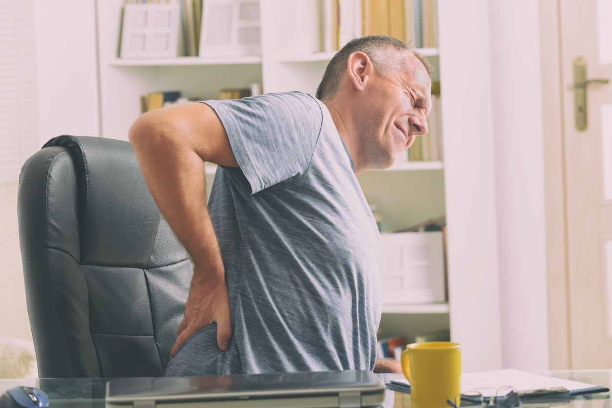 back pain huge penis problems