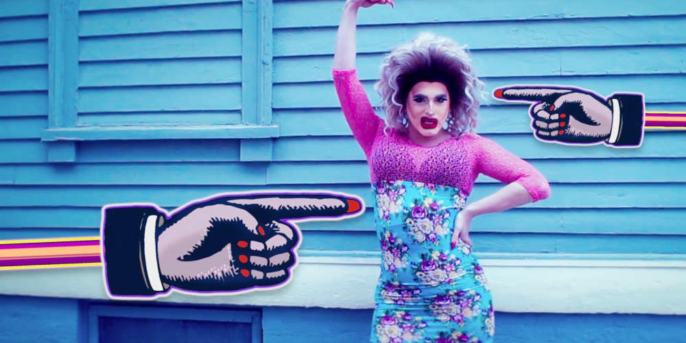 Drag Queen Ninny Nothin Wants You to 'Be Whatever You Desire to Be'