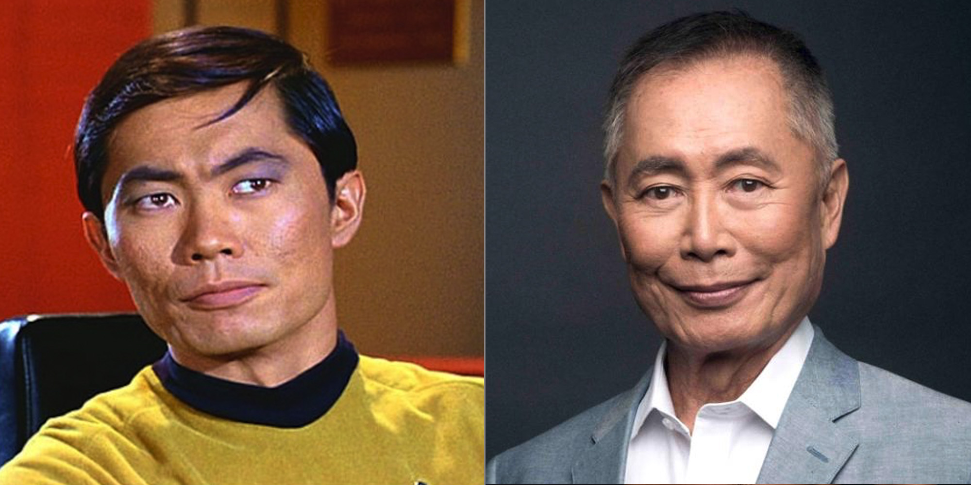 gay celebrities then and now george takei