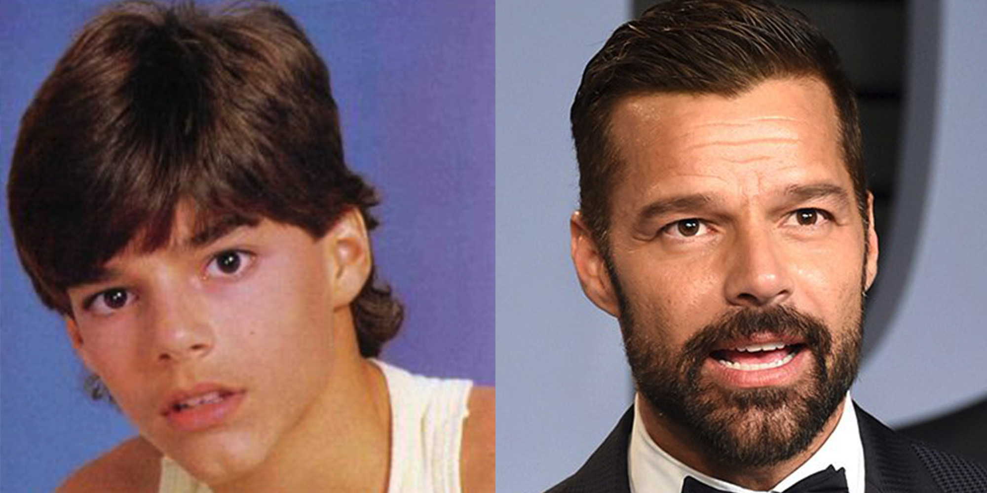 gay celebrities then and now ricky martin