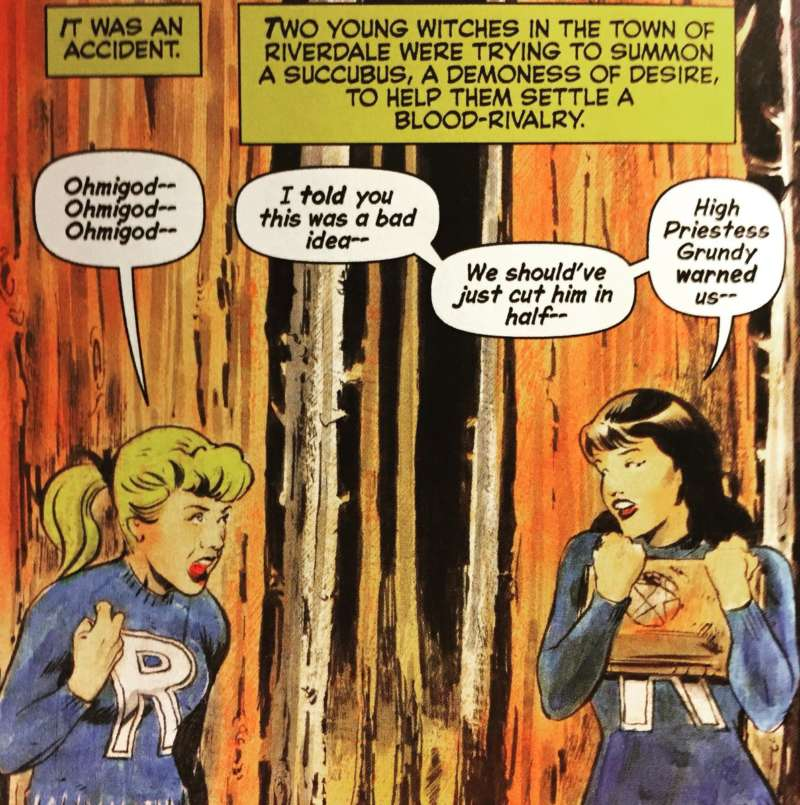 chilling adventures of sabrina betty and veronica