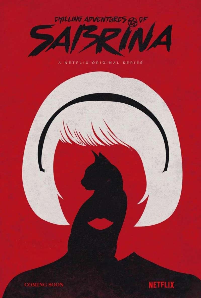 teaser poster chilling adventures of sabrina