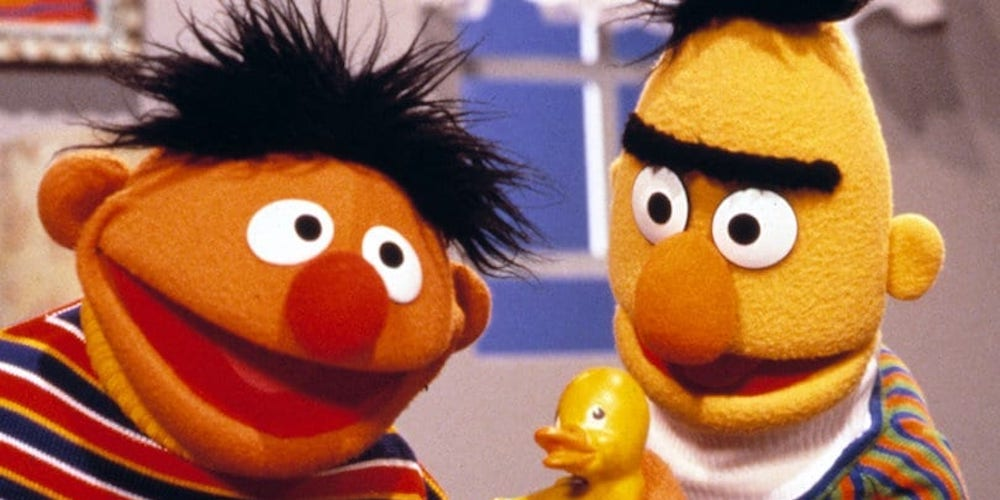 Ignore the Clickbait: No, Your Favorite 'Sesame Street' Puppets Bert and Ernie Aren't Gay