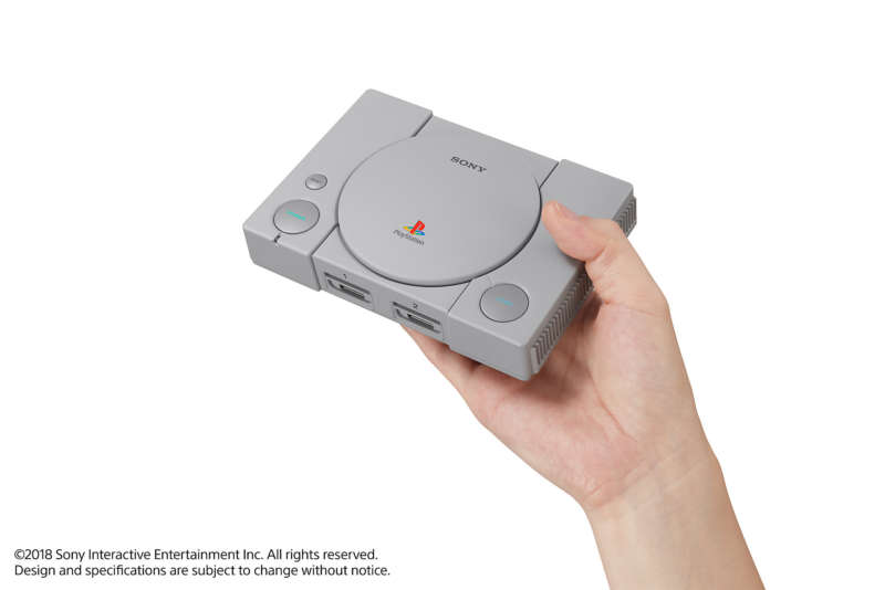 playstation classic microconsoles