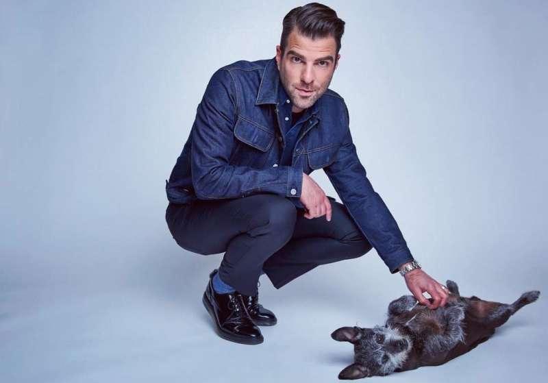 zachary quinto celebrity pets