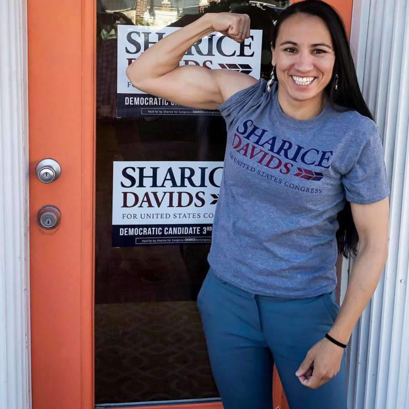 sharice davids lgbt candidates