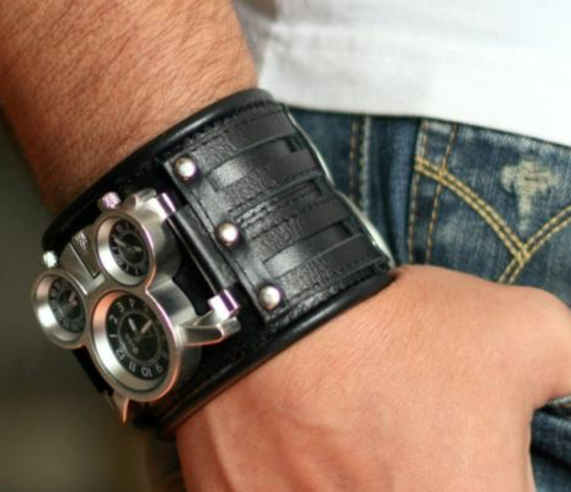 current obsessions leather watch folsom street fair accessory