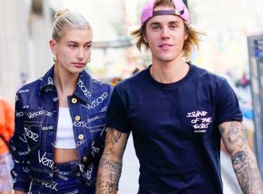 Justin Bieber and Hailey Baldwin hold hands