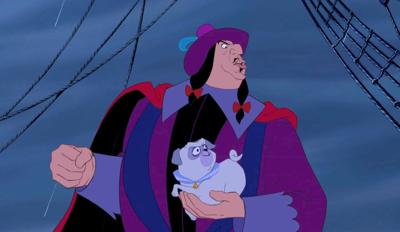 Governor Ratcliffe from Pocahontas, femme characters 19