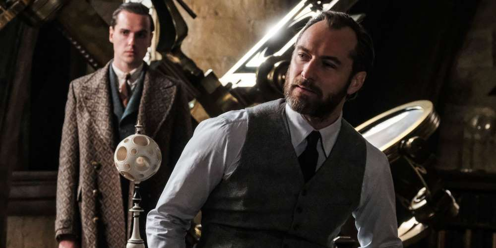 Did You Catch Dumbledore's Gay Moment in the New 'Fantastic Beasts 2' Trailer?