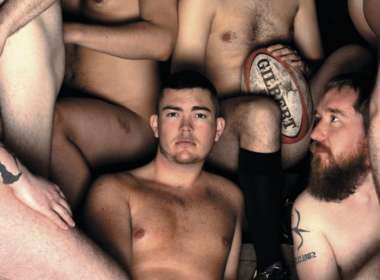 naked rugby players calendar teaser