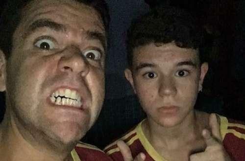 Pai defende filho gay