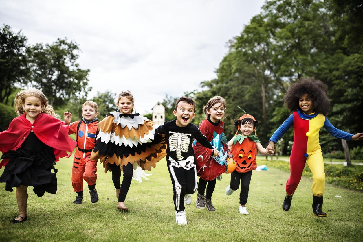 history of halloween kids