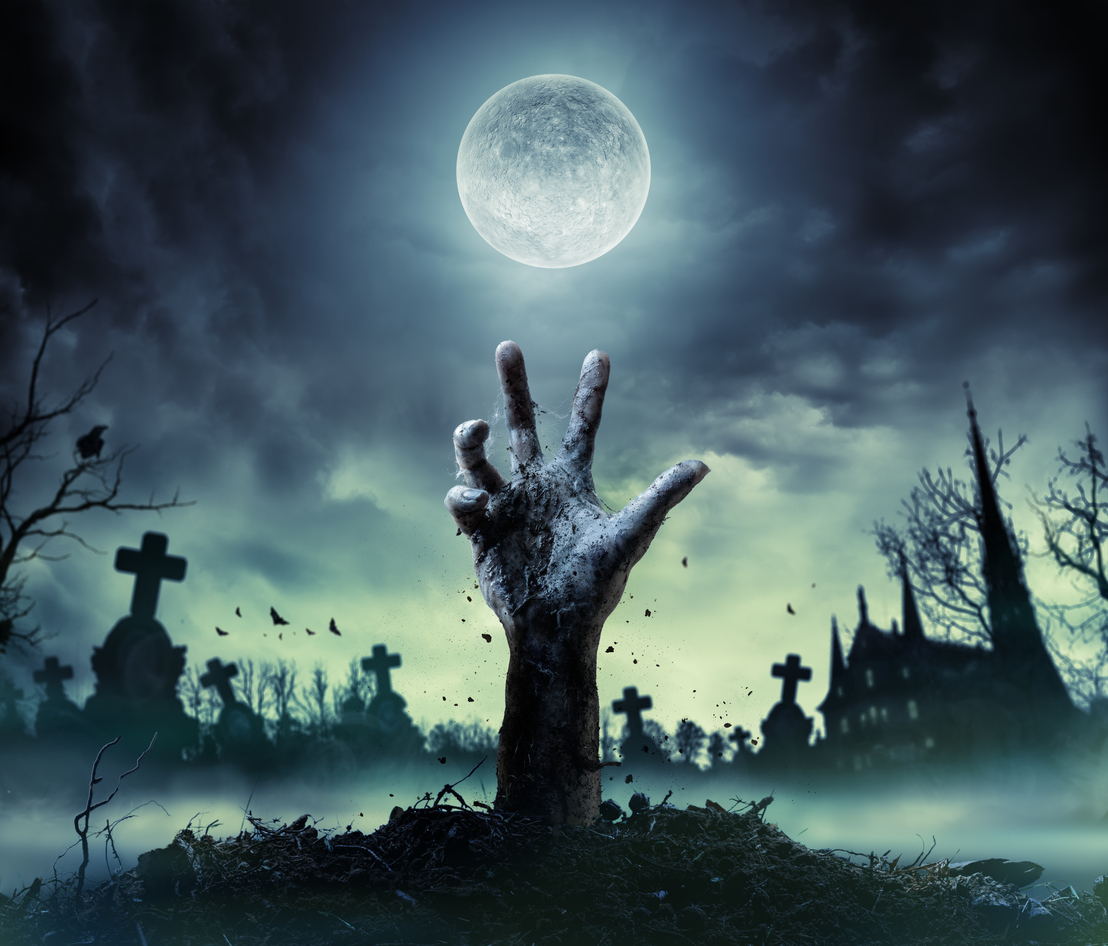 history of halloween ghost stories