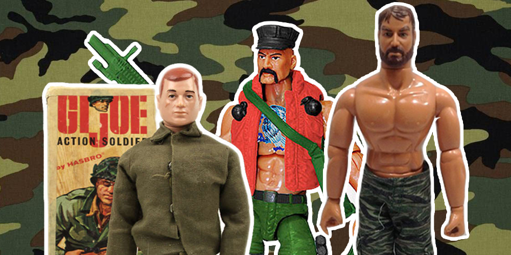 History of the Action Figure, Part 1: G.I. Joe and the Rise of the Man-Doll!