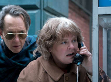 Richard E. Grant Can You Ever Forgive Me teaser